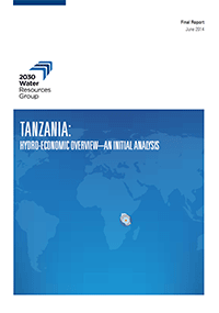 TANZANIA: hydro-economic overview–an initial analysis