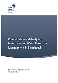 Consolidation and Analysis of Information on Water Resources Management in Bangladesh