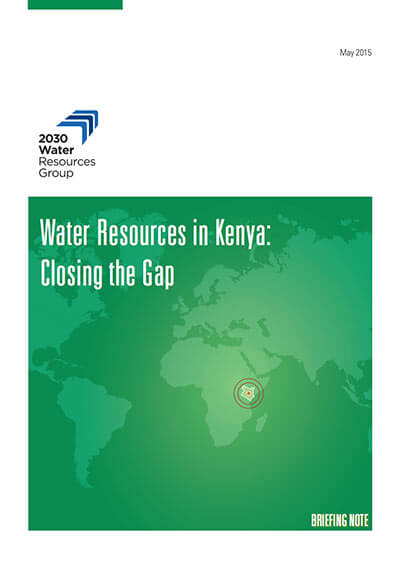 Water Resources in Kenya: Closing the Gap