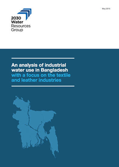 An analysis of industrial water use in Bangladesh with a focus on the textile and leather industries